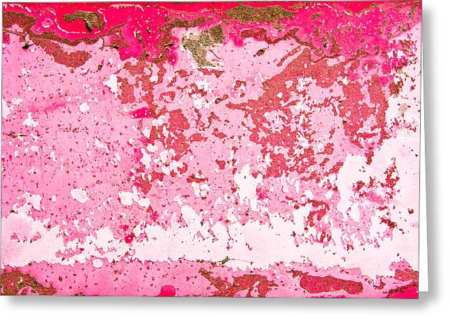 Mottled Greeting Cards - Peeling paint Greeting Card by Tom Gowanlock