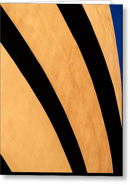 Beige Abstract Greeting Cards - 16 Seconds Greeting Card by Steven Maxx