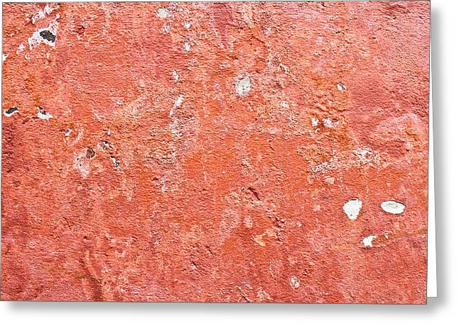 Mottled Greeting Cards - Stone wall Greeting Card by Tom Gowanlock