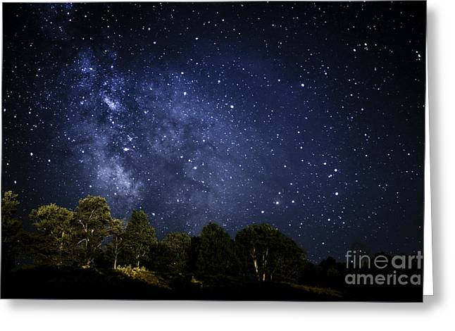 Star Clusters Greeting Cards - Under the Milky Way Greeting Card by Thomas R Fletcher