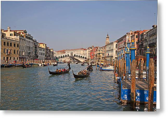 Campanile Greeting Cards - Venice - Italy Greeting Card by Joana Kruse