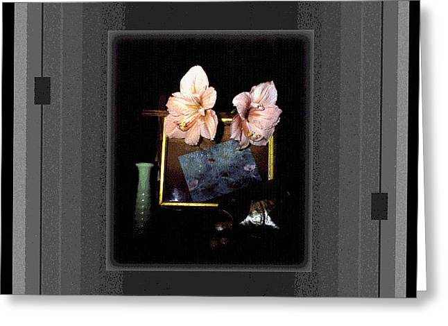 Recently Sold -  - Still Life With Fish Greeting Cards - Digital Artistry Greeting Card by Stephen Gredler