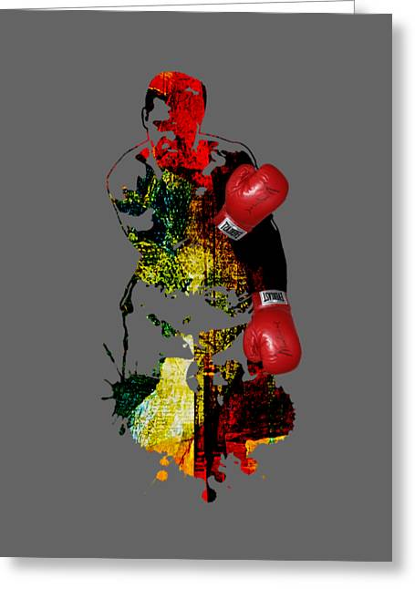 Boxing Greeting Cards - Muhammad Ali Collection Greeting Card by Marvin Blaine