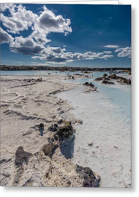 Silica Deposits In Water By The Greeting Card by Panoramic Images