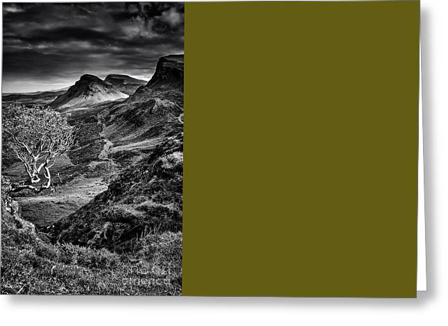 The Quiraing Greeting Card by Stephen Smith