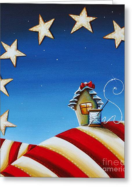 Betsy Ross Greeting Cards - 1776 Greeting Card by Cindy Thornton