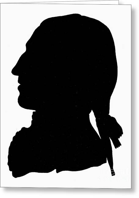 Harts Greeting Cards - George Washington Greeting Card by Granger