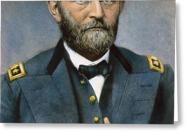 ULYSSES S. GRANT (1822-1885) Greeting Card by Granger