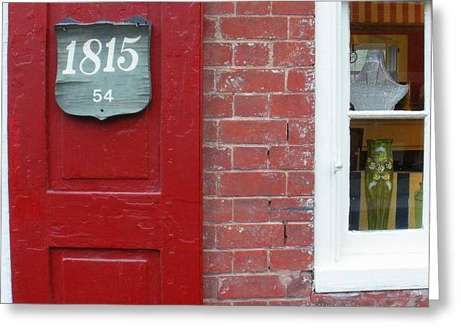 Lewisburg Greeting Cards - 1815 Greeting Card by Paul Yoder