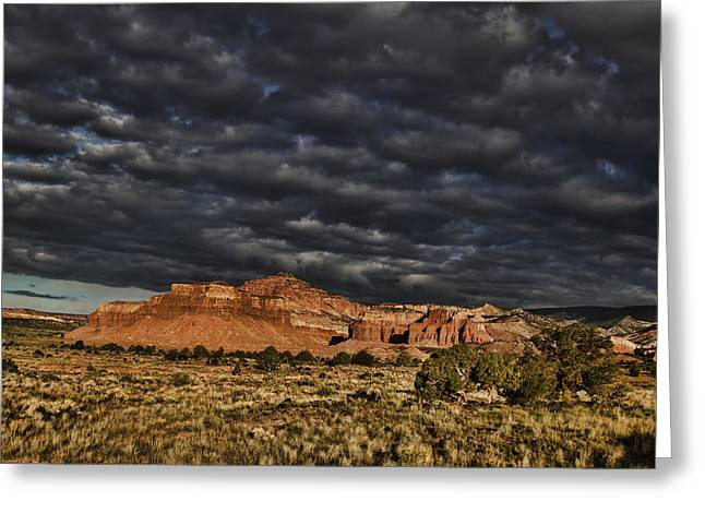 Southern Utah Greeting Cards - Capitol Reef National Park Greeting Card by Mark Smith