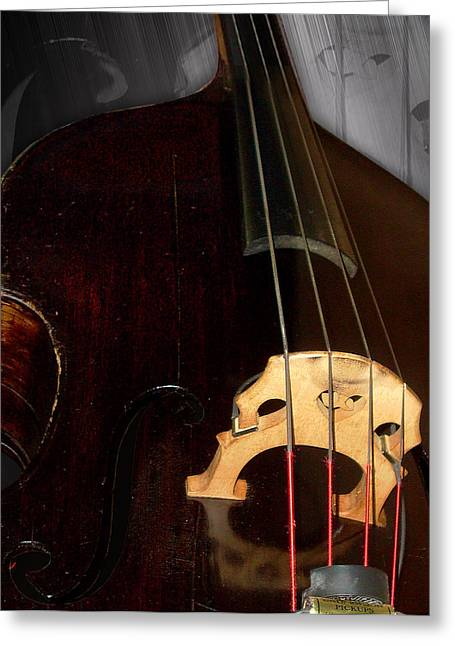Gothabilly Greeting Cards - 1880 Bass - Bridge Greeting Card by Lisa A Bello