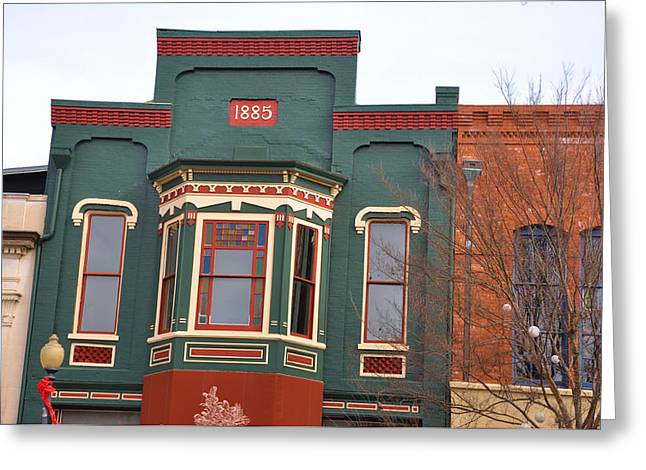 1885 Greeting Card by Jan Amiss Photography
