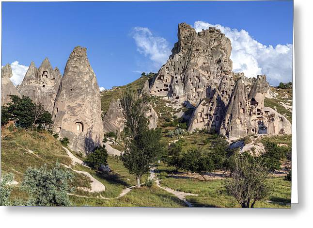 Ortahisar Greeting Cards - Cappadocia - Turkey Greeting Card by Joana Kruse