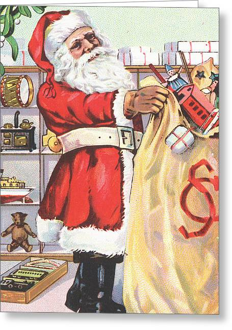 Christmas Card Greeting Card by English School