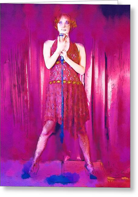 Ballet Dancers Greeting Cards - Dance Me Greeting Card by Michael Vicin