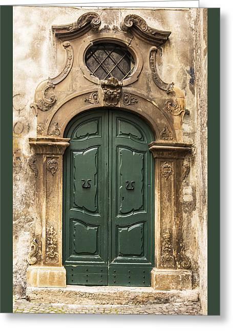 Entrance Door Greeting Cards - Italian door Greeting Card by Enrico Della Pietra