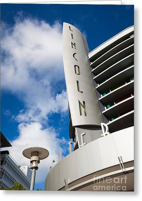 Lincoln Center Greeting Cards - Miami Beach Greeting Card by Juan  Silva