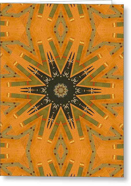 Best Seller Greeting Cards - Pattern and Optics Art Greeting Card by Ricki Mountain