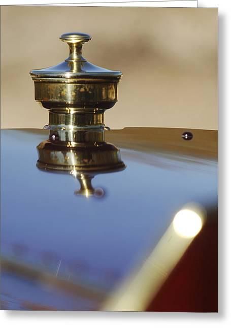 Car Mascot Greeting Cards - 1907 Panhard et Levassor Hood Ornament Greeting Card by Jill Reger