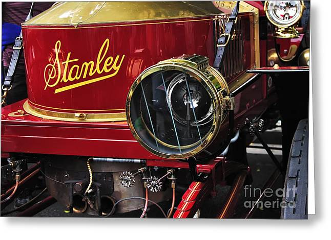 1907 Greeting Cards - 1907 Stanley Steamer Greeting Card by Kaye Menner