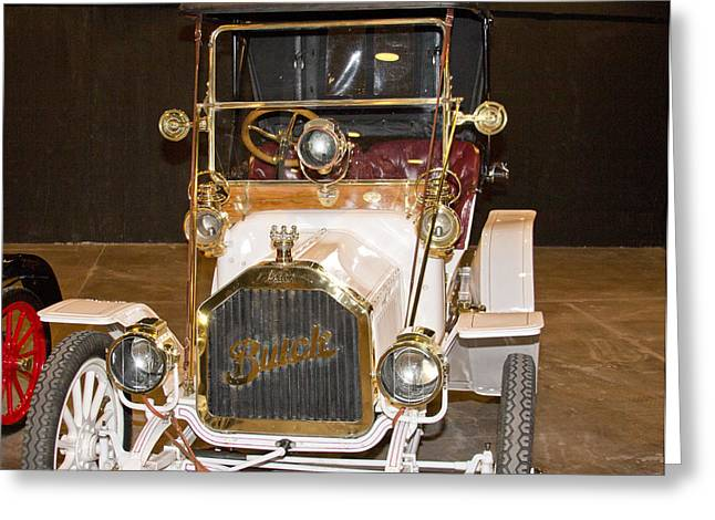 Runabout Greeting Cards - 1909 Buick -Runabout Greeting Card by Douglas Barnard