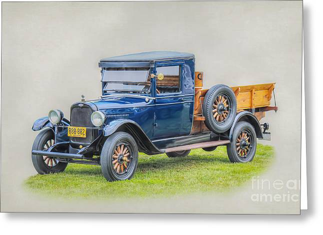 Chevrolet Pickup Truck Digital Greeting Cards - 1926 Chevrolet Pickup Truck Greeting Card by Randy Steele