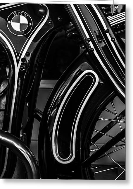 Jacksonville Florida Greeting Cards - 1929 Bmw R11 Greeting Card by William Jones