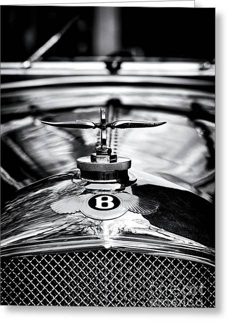 1930 Bentley Greeting Card by Tim Gainey