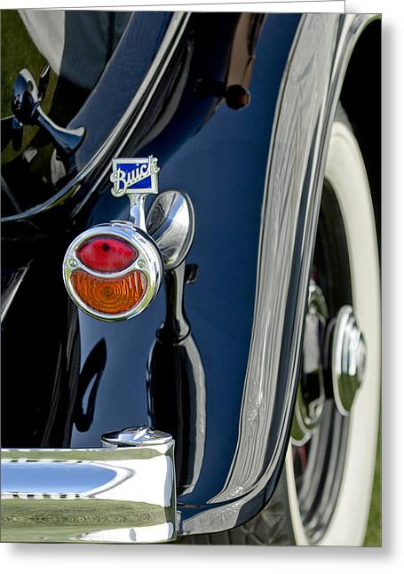 1932 Buick Series 60 Phaeton Taillight Greeting Card by Jill Reger