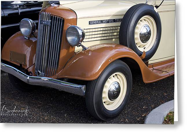 Robin Lewis Greeting Cards - 1936 GMC Pickup Truck 1 Greeting Card by Robin Lewis