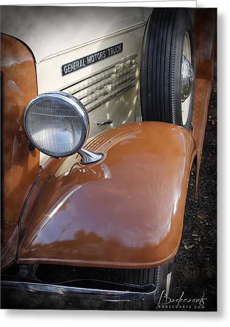 Robin Lewis Greeting Cards - 1936 GMC Pickup Truck 2 Greeting Card by Robin Lewis
