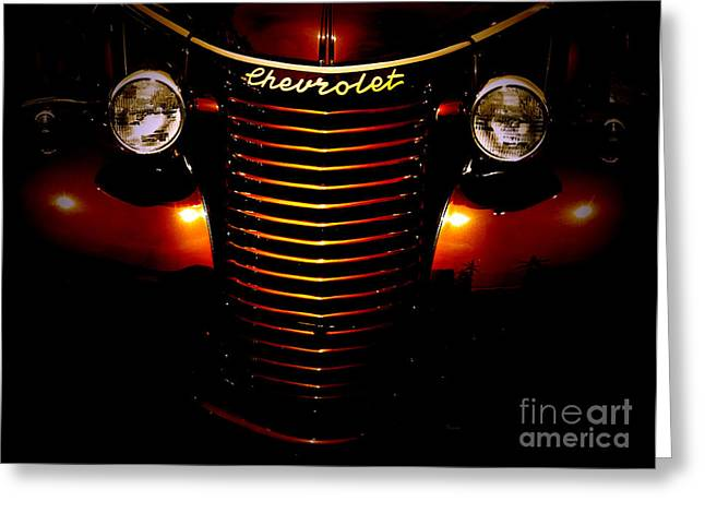 Chevrolet Pickup Truck Digital Greeting Cards - 1940 Chevy Tobacco  Greeting Card by Steven  Digman