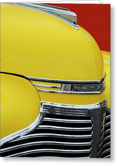Car Mascot Greeting Cards - 1941 Chevrolet Sedan Hood Ornament 2 Greeting Card by Jill Reger