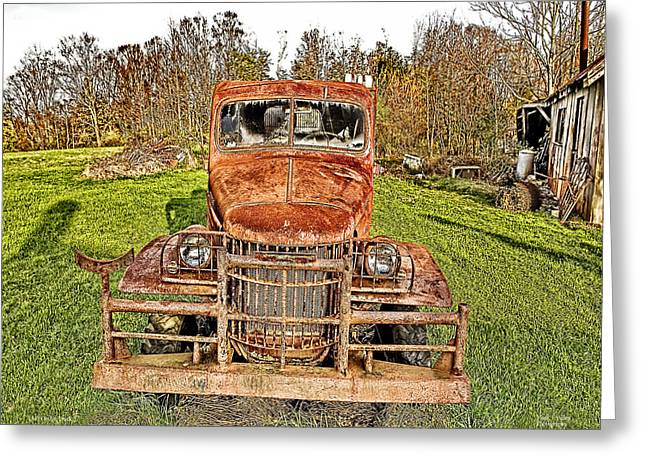 Coin Pictures Greeting Cards - 1941 Dodge Truck 3 Greeting Card by Mark Allen