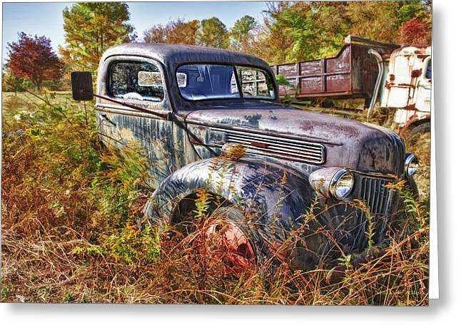 River Rafting Art Print Greeting Cards - 1941 Ford Truck Greeting Card by Mark Allen