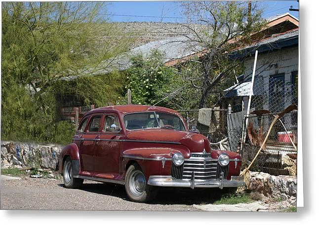 1941 Oldsmobile 60 Sedan Greeting Card by Jack Pumphrey