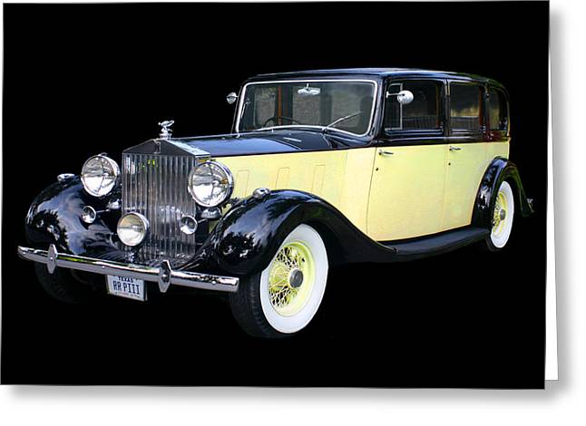 This Is It. Greeting Cards - 1941 Rolls-Royce Phantom I I I  Greeting Card by Jack Pumphrey
