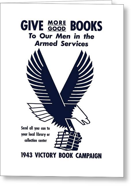 Second Greeting Cards - 1943 Victory Book Campaign Greeting Card by War Is Hell Store