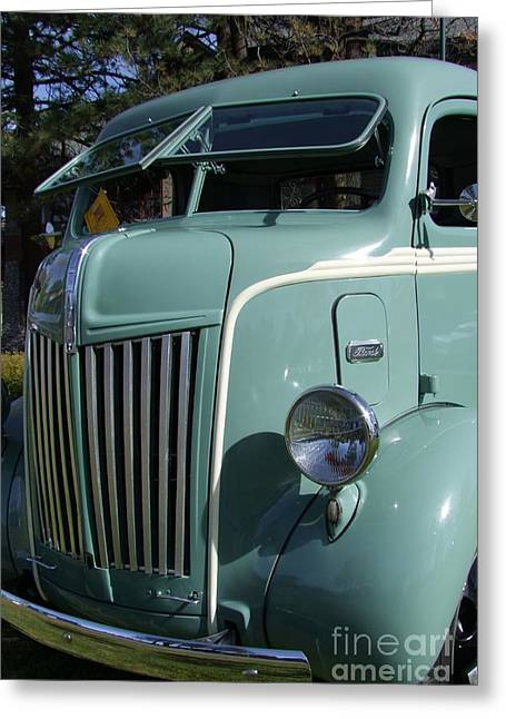 1947 Ford Cab Over Truck Greeting Card by Mary Deal