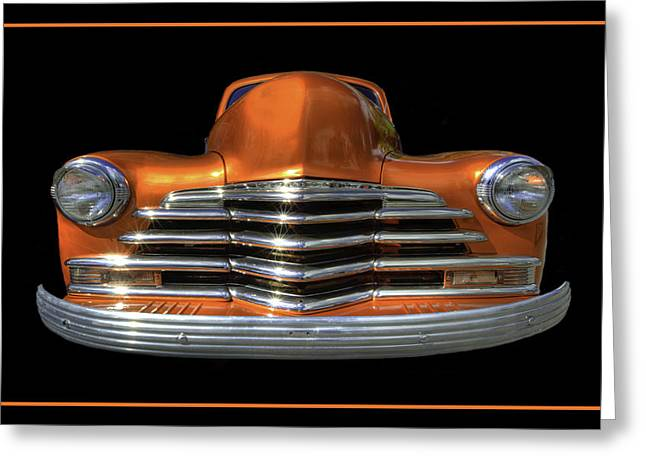 Wide Front End Greeting Cards - 1948 Chevy Greeting Card by Jay Droggitis