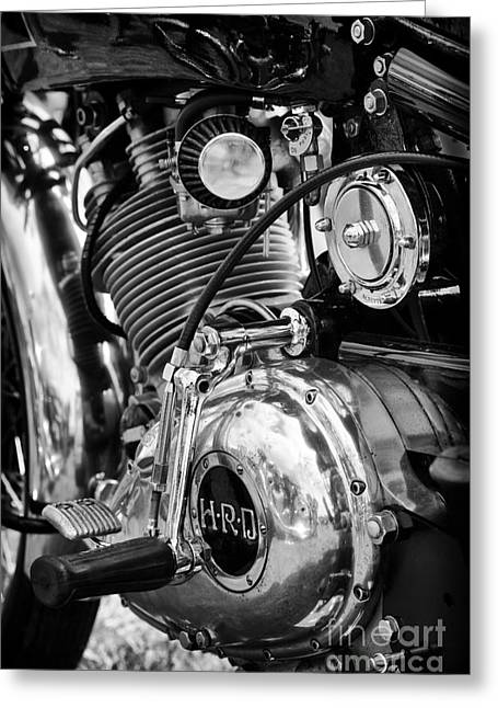 1950 Hrd Vincent Series B Meteor  Greeting Card by Tim Gainey