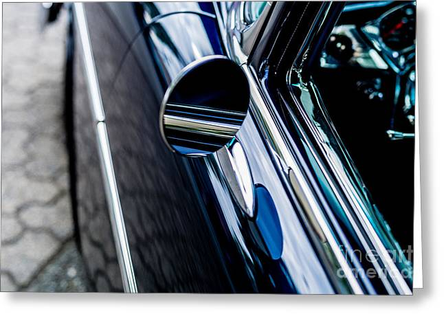 Greeting Card featuring the photograph 1950s Chevrolet by M G Whittingham