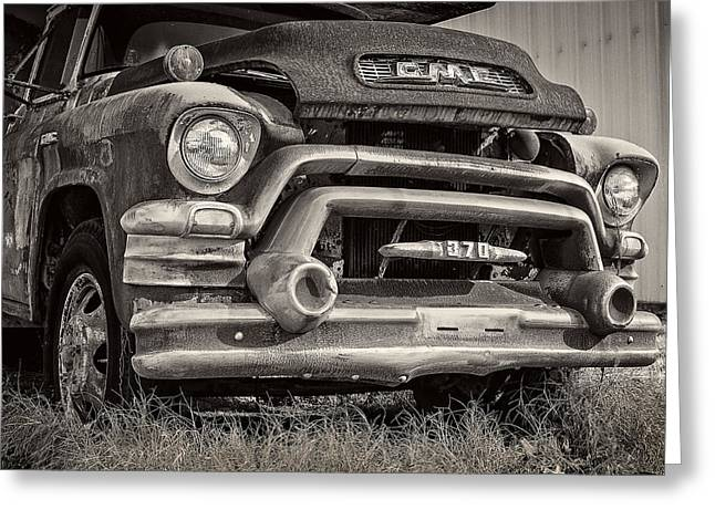 1950s Gmc 370 Greeting Card by Jon Woodhams