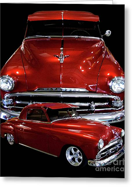 1951 Business Coupe Greeting Card by Peter Piatt