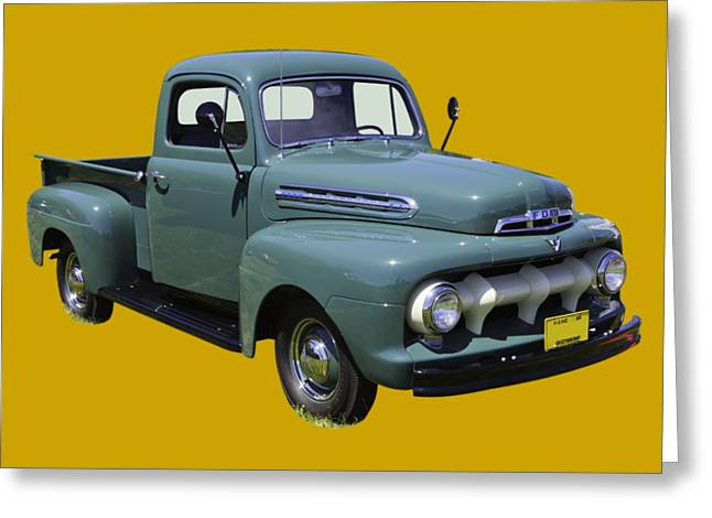 1951 Ford F-1 Pickup Truck Greeting Card by Keith Webber Jr