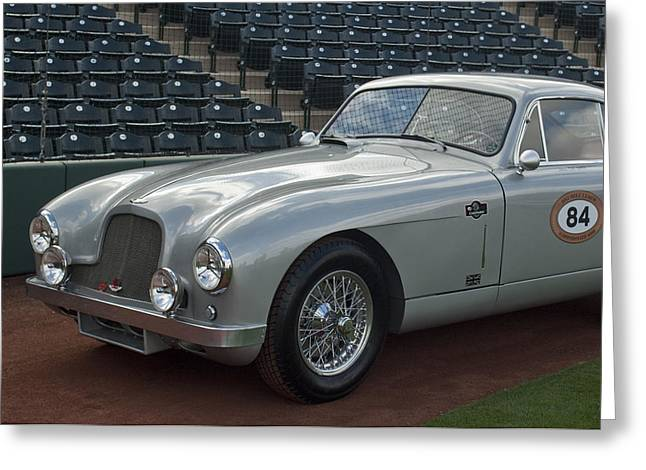 Famous Photographer Greeting Cards - 1952 Aston Martin DB2 Greeting Card by Jill Reger