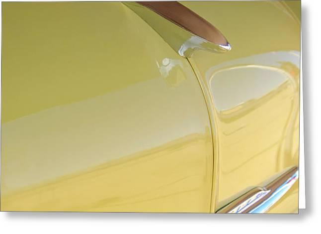 1953 Chevrolet Bel Air Hood Ornament Greeting Card by Jill Reger