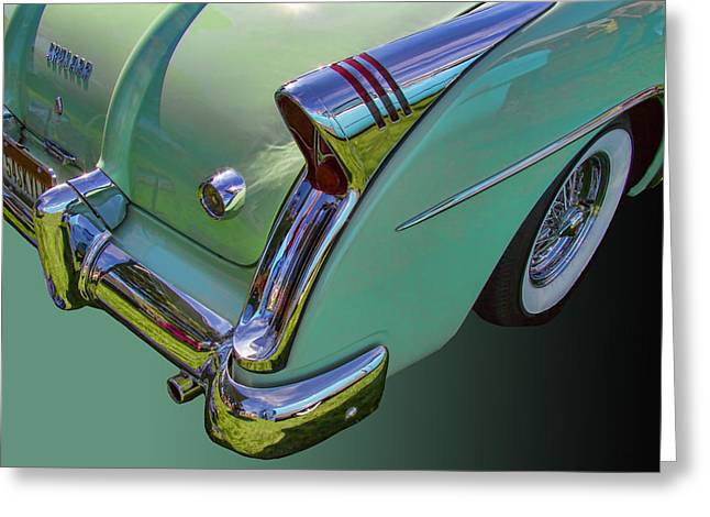 Collector Hood Ornament Greeting Cards - 1954 Buick Skylark Convertible Greeting Card by Nick Gray