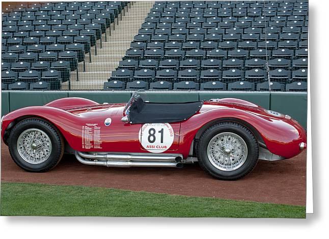 1954 Maserati A6 GCS  Greeting Card by Jill Reger