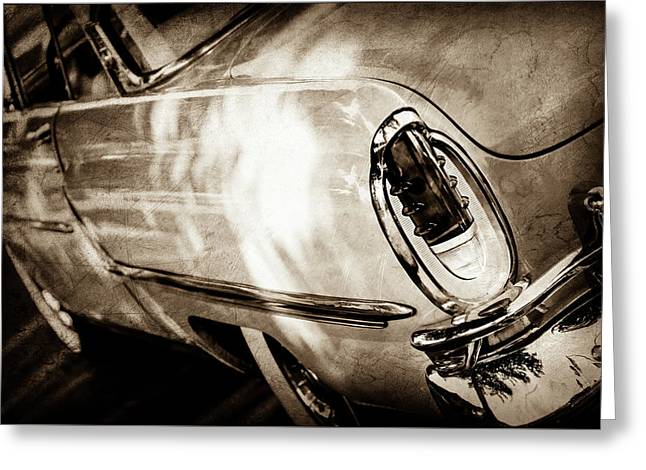 1955 Mercury Monterey Taillight -0351s Greeting Card by Jill Reger